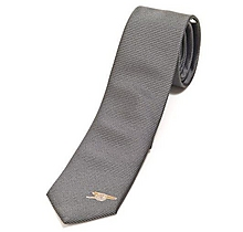 Arsenal Mens Grey Skinny Tie