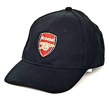 Arsenal Junior Black Basic Crest Cap