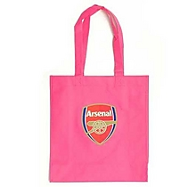 Arsenal Dark Pink Shopper Bag