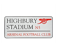 Arsenal Highbury Stadium Sign