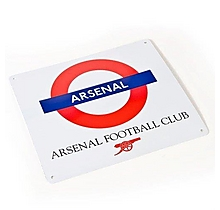 Arsenal Tube Sign