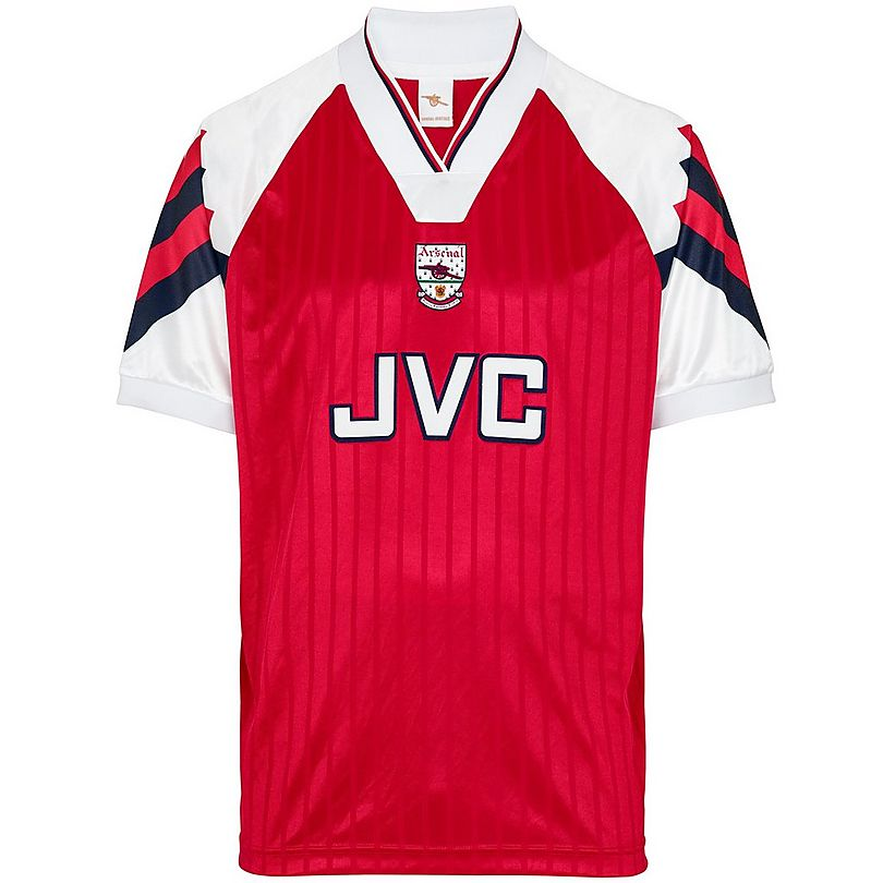 low priced 87d7b 20447 Arsenal Goalkeeper football shirt 1992 - 1994. Sponsored by JVC