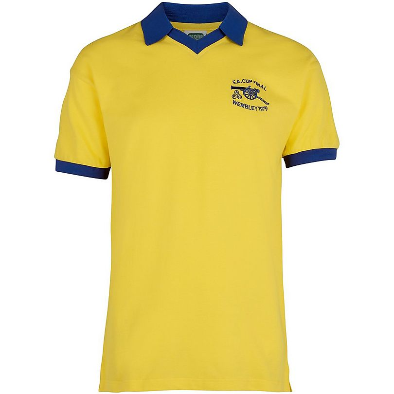 124427aef Arsenal 1979 FA Cup Final Shirt ...