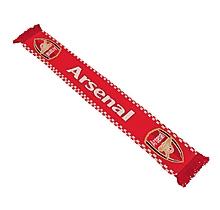 Arsenal Crest Jacquard Scarf