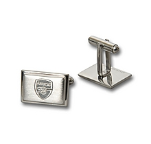 Arsenal Crest Stainless Steel Cuffllinks