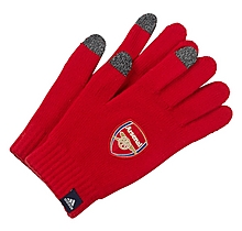 Arsenal 19/20 Knitted Gloves