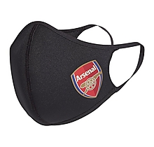 Arsenal 3pk Adult Face Cover
