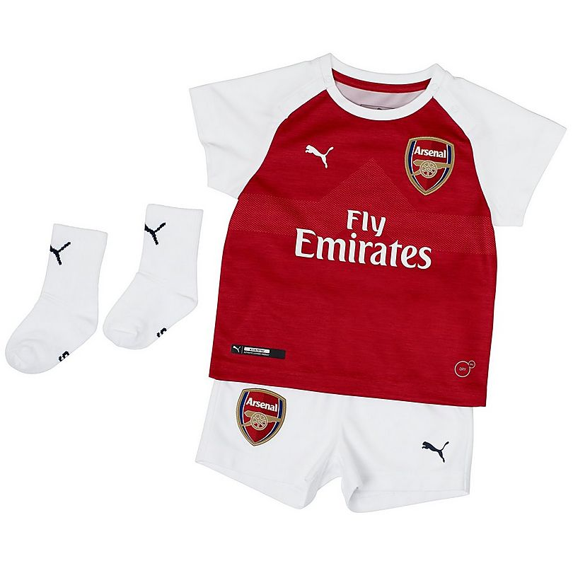 the latest 688d5 38490 Arsenal Baby 18/19 Home Kit | Official Arsenal Online Store