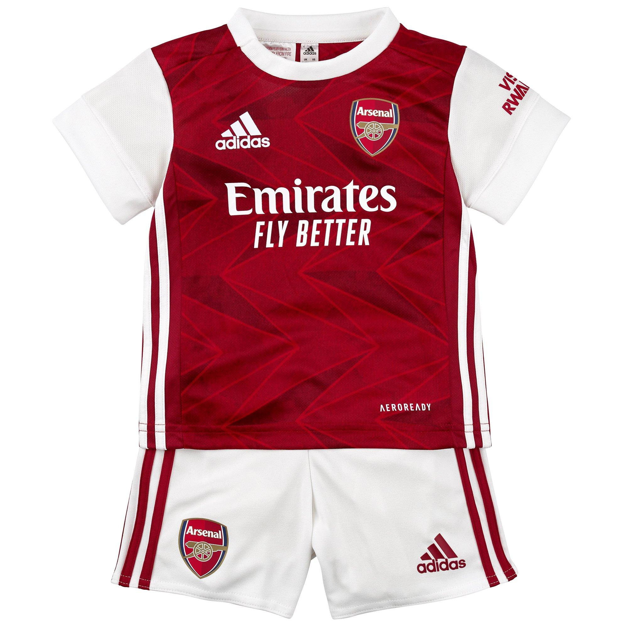 Arsenal 20/21 Home Baby Kit | Official Online Store