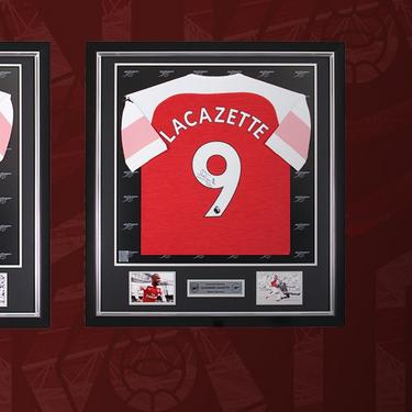 33a4c0b30c2 20% Off Selected Signature Collection. The exclusive Arsenal Signature  Collection features hand-signed player shirts ...