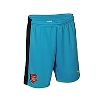Arsenal Junior 16/17 Away Goalkeeper Shorts