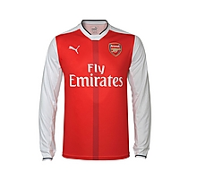 Arsenal Junior 16/17 Long Sleeve Home Shirt