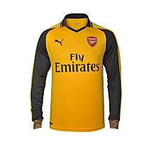Arsenal Junior 16/17 Long Sleeve Away Shirt