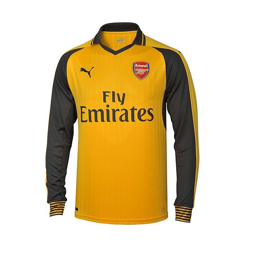 0d9bef94 Arsenal Junior 2016/17 Long Sleeved Replica Away Shirt