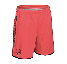 Arsenal Junior 17/18 Pink Goalkeeper Shorts