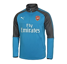 Arsenal Junior 17/18 1/4 Zip Away Training Top