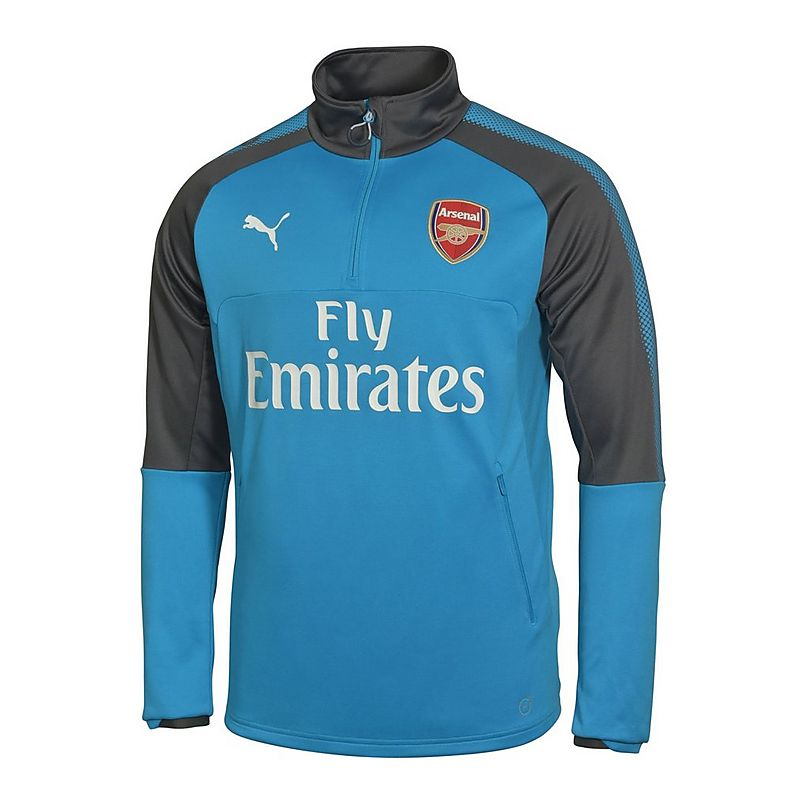 new styles c58f6 625ea Arsenal 17/18 Kid's Away Training Top | Official Online Store