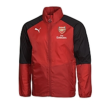 Arsenal Junior 17/18 Home Shower Jacket