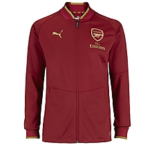 Junior 18/19 Stadium Jacket Red