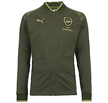 Junior 18/19 Stadium Jacket Green