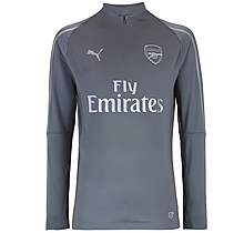 Arsenal Junior 18/19 Grey 1/4 Zip Training Top