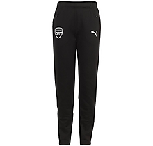 Arsenal Junior 18/19 Casual Performance Black Sweat Pants