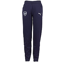 Arsenal Junior 18/19 Casual Performance Blue Sweat Pants