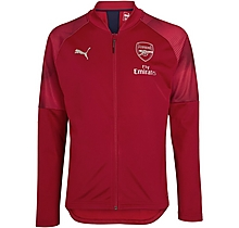 Arsenal New Junior Stadium Jacket Red