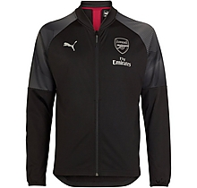 Arsenal New Junior Stadium Jacket Black