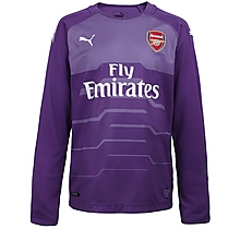 Arsenal Junior 18/19 Purple Goalkeeper Shirt