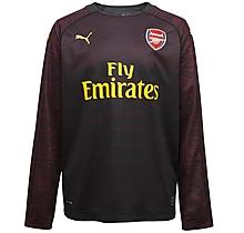 Arsenal Junior 18 19 Black Goalkeeper Shirt