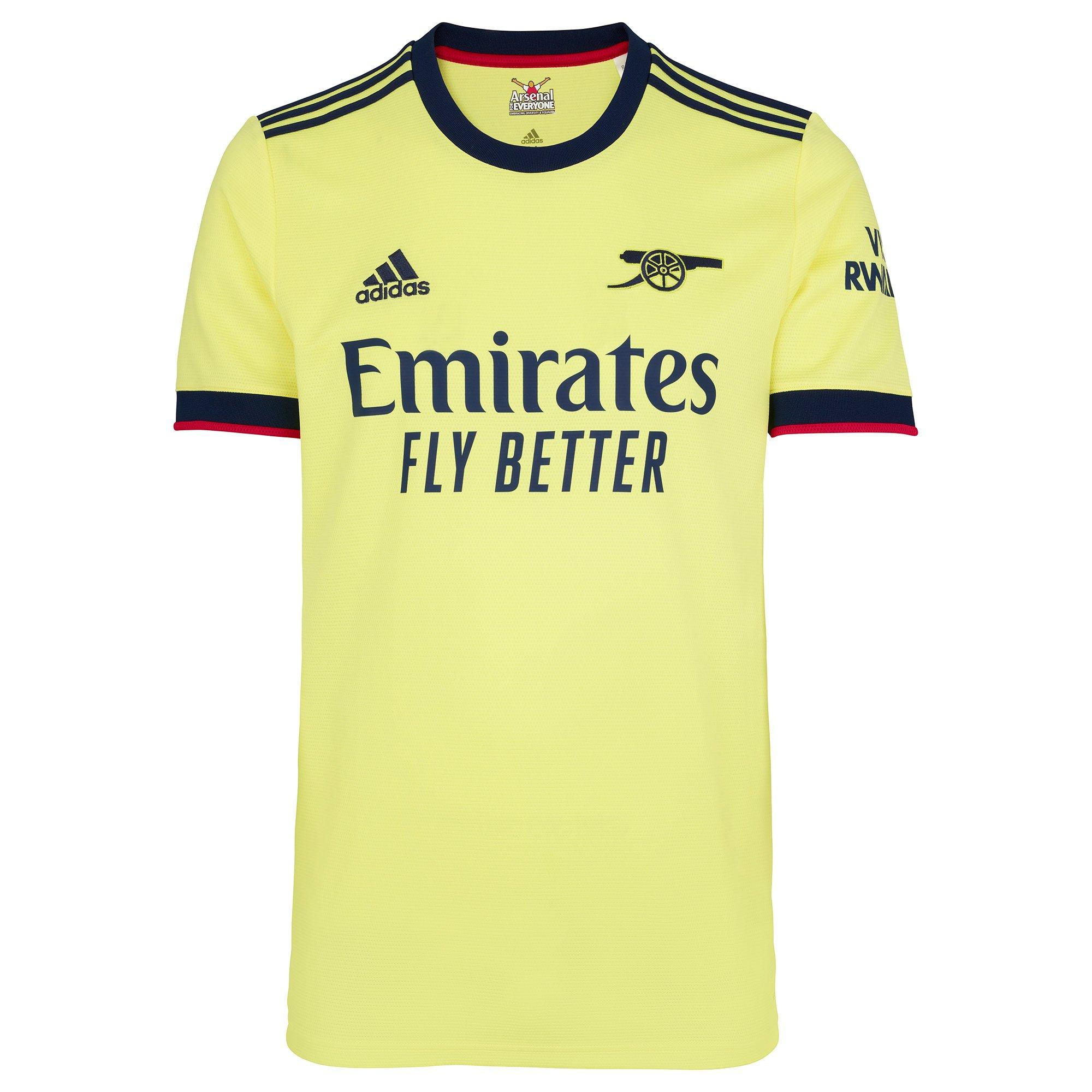 The Arsenal 21/22 Away Kit   Official Online Store
