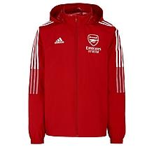 Arsenal Junior 21/22 All Weather Rain Jacket