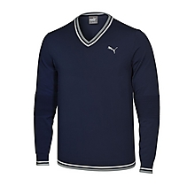 Arsenal Golf Evoknit V-Neck Sweater