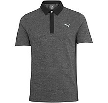 Arsenal Puma Golf Moving Day Black Polo