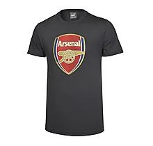 Arsenal Crest Dark Grey Puma T-Shirt