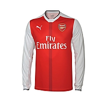 Arsenal Adult 16/17 Long Sleeve Home Shirt