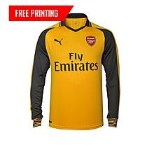 Arsenal Adult 16/17 Long Sleeve Away Shirt