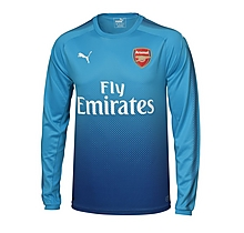 Arsenal Adult 17/18 Long Sleeved Away Shirt