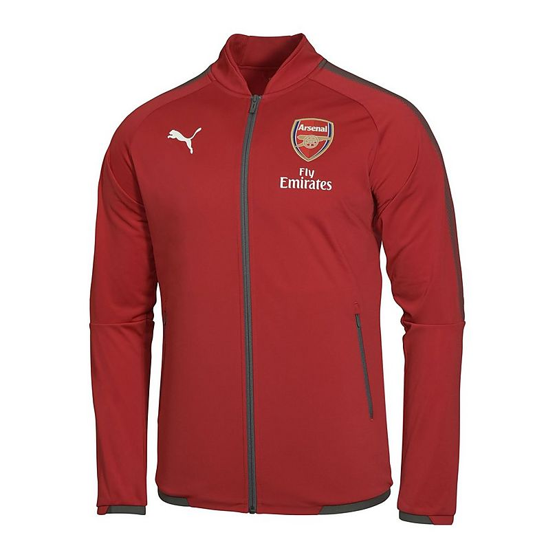 ca284c850 Arsenal 17/18 Mens Home Stadium Jacket | Official Online Store