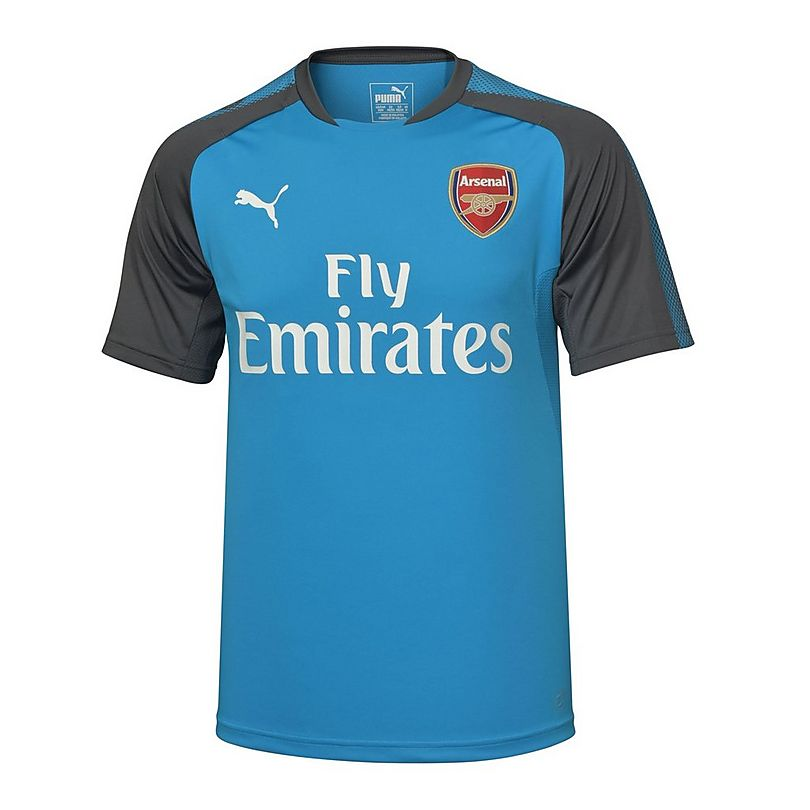 huge discount cd154 6aa7f Arsenal 17/18 Adult Away Training Shirt | Official Online Store