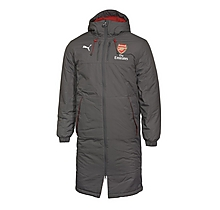 Arsenal 17/18 Home Long Bench Coat