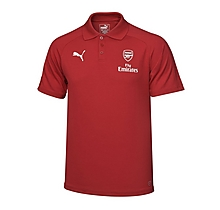 Arsenal Adult 17/18 Casual Performance Home Polo Shirt