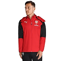 Arsenal Adult 17/18 Red Performance Rain Jacket
