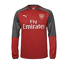 Arsenal 17/18 Home Training Sweatshirt