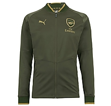 Arsenal 18/19 Stadium Jacket Green