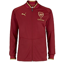 Arsenal 18/19 Stadium Jacket Red