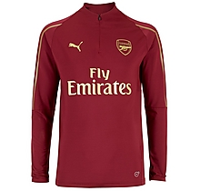 Arsenal 18/19 Red 1/4 Zip Training Top