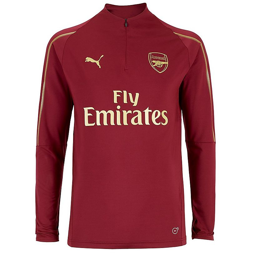 644d0ab3c Arsenal 18 19 Home 1 4 Zip Training Top