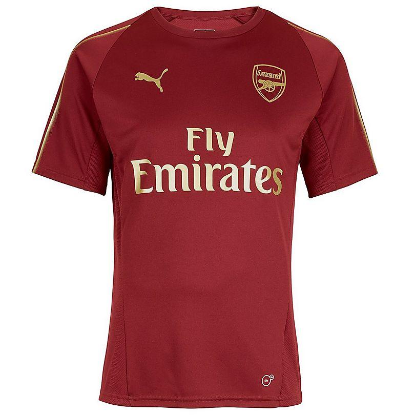 d55a8d5f4e6 Arsenal 18 19 Home Training Shirt